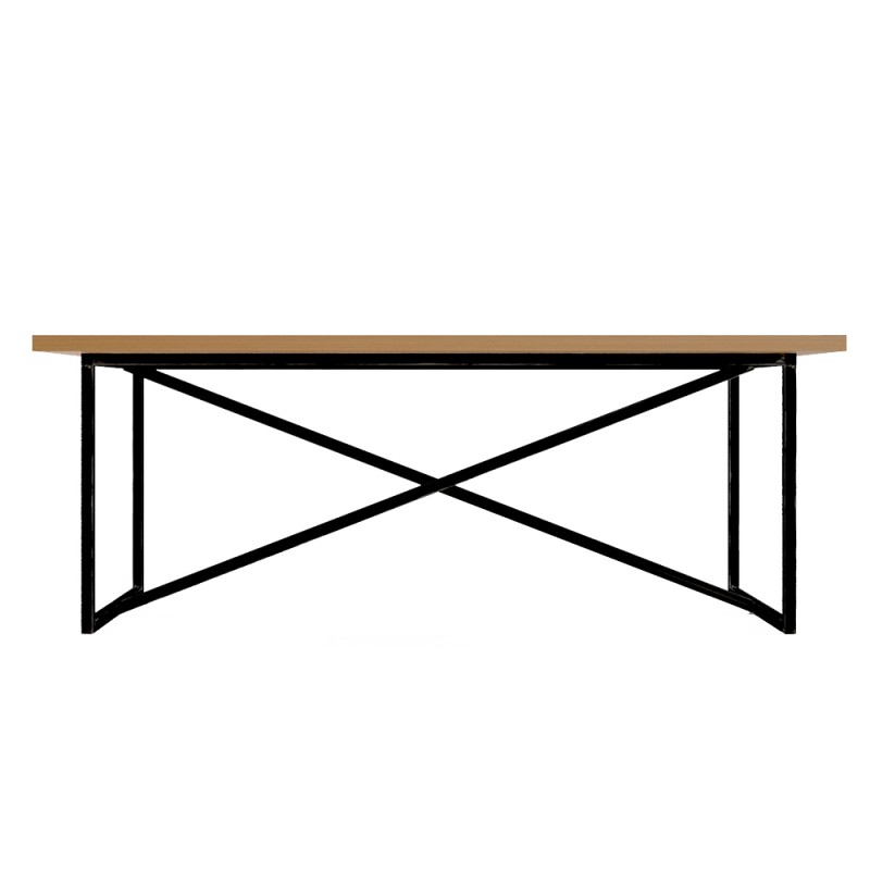 Стол IndustrialОбеденные столы<br><br><br>Material: Береза<br>Ширина см: 200<br>Высота см: 75<br>Глубина см: 90
