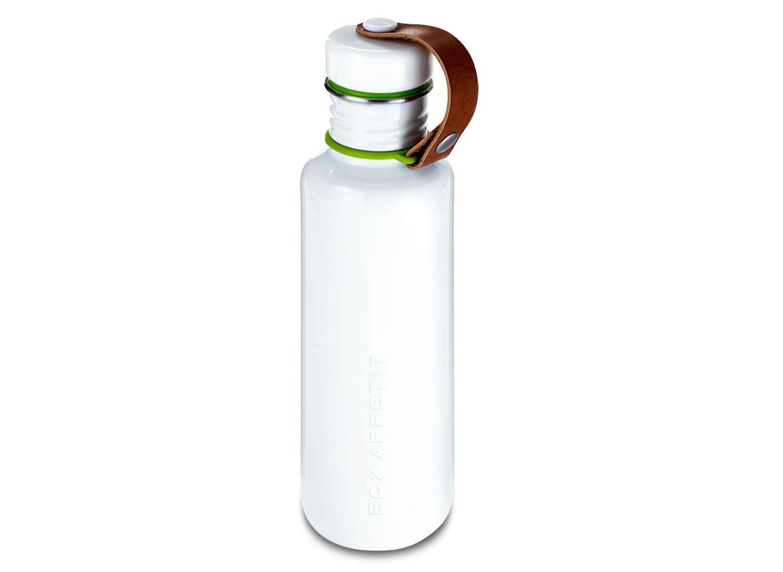 Фляга Box appetitБутылки<br>Фляга является аксессуаром из линейки бренда black + blum, специально разработанной с учётом всех требований к контейнерам и переносной посуде. Фляга обладает практичностью, прочностью и высокой функциональностью. Её внешний вид вдохновлён винтажной посудой из эмали и имеет всегда актуальную ноту ретро в современном прочтении. Бутылка оснащена удобным ремешком из искусственной кожи.&amp;lt;div&amp;gt;&amp;lt;br&amp;gt;&amp;lt;/div&amp;gt;&amp;lt;div&amp;gt;Объем 750 мл.&amp;lt;/div&amp;gt;<br><br>Material: Сталь<br>Высота см: 25