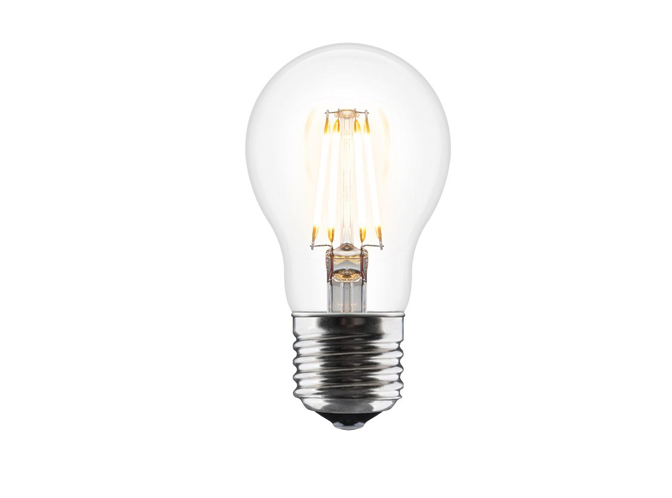 Лампочка ideaЛампочки<br>Уделяя особое внимание качеству света и защите окружающей среды, дизайнеры VITA создали эту энергосберегающую лампочку категории A++, которая относится к наивысшему классу энергоэффективности. Её простой и привлекательный дизайн напоминает форму классической лампочки, хотя в отличие от последней лампочка LED Idea не нагревается во время работы. Благодаря высоким показателям цветопередачи теплый ламповый свет имитирует естественное природное освещение, приятное для глаз. Лампочка LED Idea - безопасное и нетоксичное решение для экономии энергии.&amp;lt;div&amp;gt;&amp;lt;br&amp;gt;&amp;lt;/div&amp;gt;&amp;lt;div&amp;gt;Вид цоколя: LED&amp;lt;br&amp;gt;&amp;lt;/div&amp;gt;&amp;lt;div&amp;gt;&amp;lt;div&amp;gt;Мощность: 6W&amp;lt;/div&amp;gt;&amp;lt;div&amp;gt;&amp;lt;br&amp;gt;&amp;lt;/div&amp;gt;&amp;lt;div&amp;gt;&amp;lt;br&amp;gt;&amp;lt;/div&amp;gt;&amp;lt;/div&amp;gt;<br><br>Material: Стекло