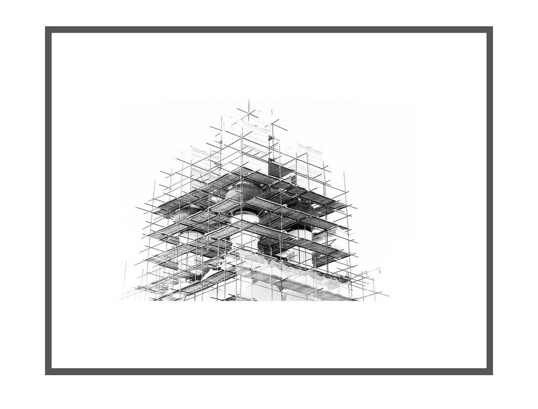 """Авторский постер """"Бег по вертикали"""""""