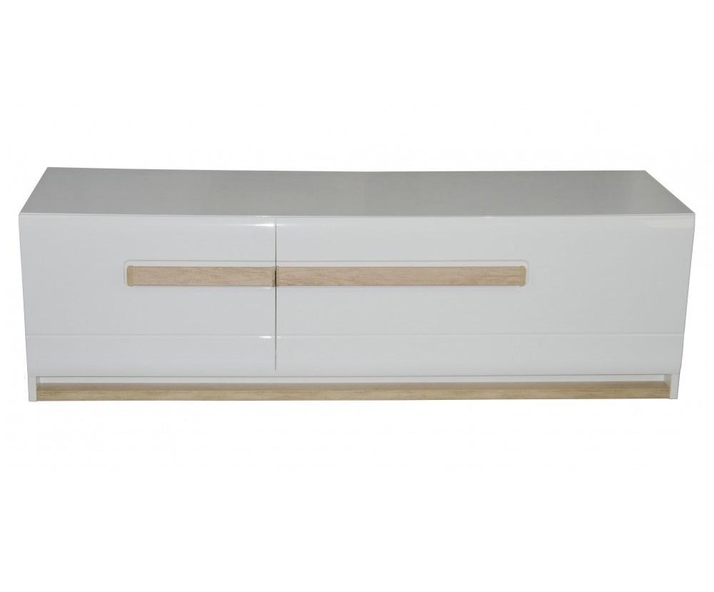 Тумба под ТВ LENA-TVТумбы под TV<br>Тумба под ТВ имеет 2 ящика с направляющими скрытого монтажа с soft-close доводчиками.<br>Фасады и потолок-крыша тумбы изготовлены из глянцевого МДФ в белом цвете.<br>Остаток корпуса изготовлен из ЛДСП белого цвета. <br>Особенност гостиной это ручка, изготовлена из МДФ, в декоре Небраска.<br>LED освещение мощности 7,5W находится в цоколе и в внутренности элемента и включено в цену продукта.<br><br>Цвет корпуса<br> White<br>Цвет фасадов<br> Белый HG<br><br>Требуется сборка!&amp;lt;div&amp;gt;&amp;lt;br&amp;gt;&amp;lt;/div&amp;gt;&amp;lt;div&amp;gt;Материал: МДФ/ЛДСП&amp;lt;br&amp;gt;&amp;lt;/div&amp;gt;<br><br>Material: МДФ<br>Ширина см: 160<br>Высота см: 48<br>Глубина см: 54