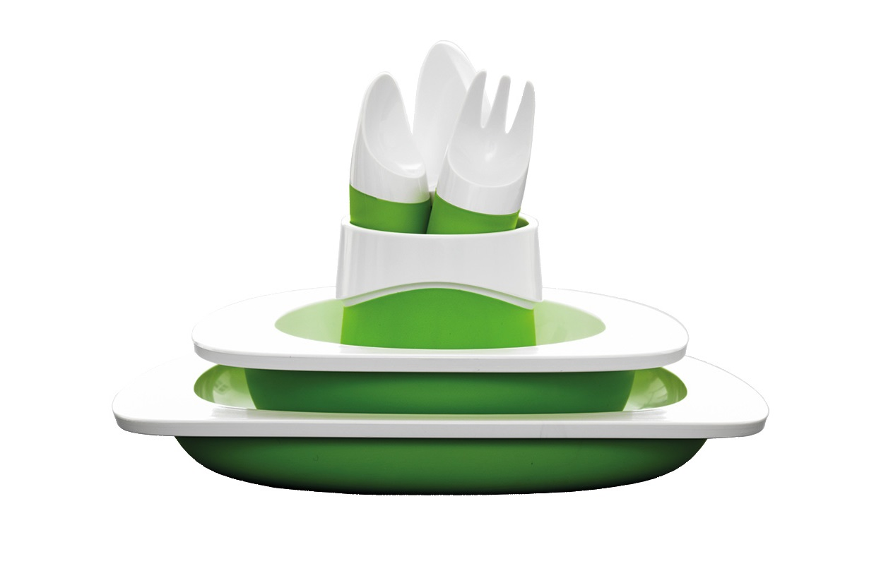 Набор столовый детскийСтоловые сервизы<br>Набор для малышей создан специально для приучения ребёнка к столовым приборам и посуде. Удобные, безопасные и функциональные вещи для развития ребёнка. Эргономичная форма приспособлена специально для детей и помогает развивать двигательные навыки, а также правильные привычки за столом. Посуда не содержит бисфенол-А&amp;lt;div&amp;gt;&amp;lt;br&amp;gt;&amp;lt;/div&amp;gt;&amp;lt;div&amp;gt;Материал: пластик ABS&amp;lt;br&amp;gt;&amp;lt;/div&amp;gt;<br><br>Material: Пластик<br>Depth см: 13<br>Diameter см: 25