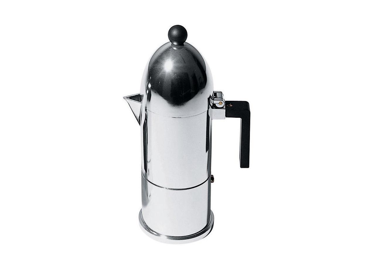 Кофеварка для эспрессо la cupola (alessi) серебристый 18 см.