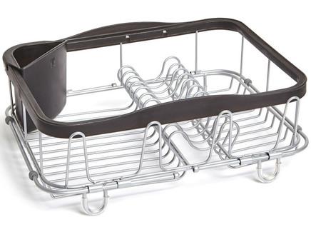 Сушилка для посуды sinkin (umbra) черный 36x13x28 см.