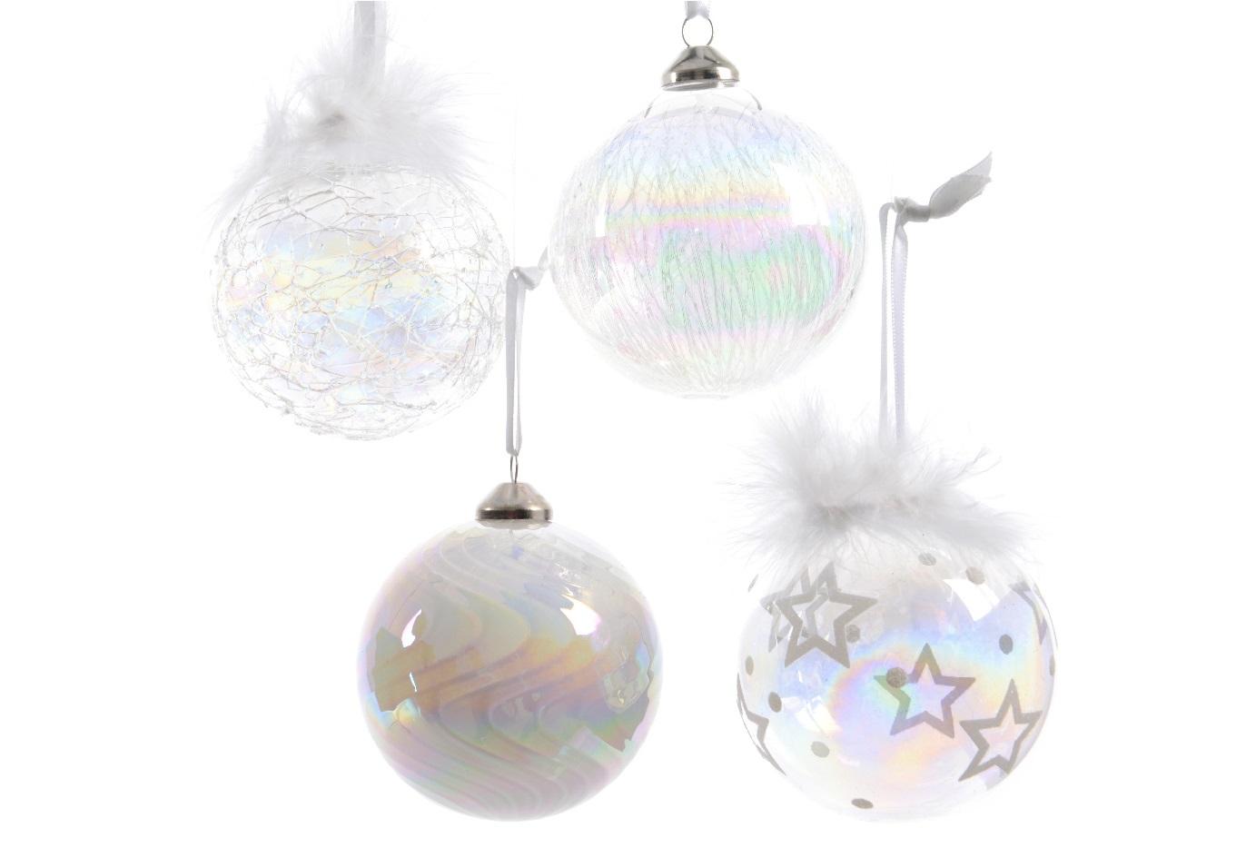 Набор шаров на ёлку (12шт)Новогодние игрушки<br><br><br>Material: Стекло<br>Width см: None<br>Depth см: None<br>Height см: 8<br>Diameter см: 8