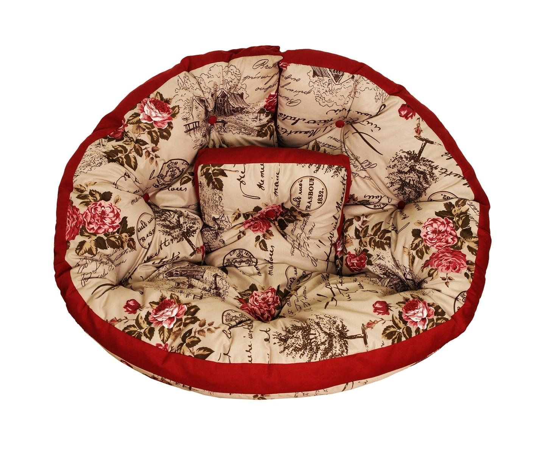 Кресло-футонБесформенные пуфы<br>Помните, как в детстве все любили качаться на гамаках? Это кресло напомнит вам о приятном, а тропический принт наполнит вашу квартиру солнечным светом и теплом. Его можно расположить в кресле или использовать как самостоятельный матрас-футон. Кроме того, по желанию вы сможете соединить его &amp;amp;nbsp;с другими креслами и расположиться на них всей семьей!<br><br>Material: Текстиль<br>Ширина см: 200<br>Высота см: 100