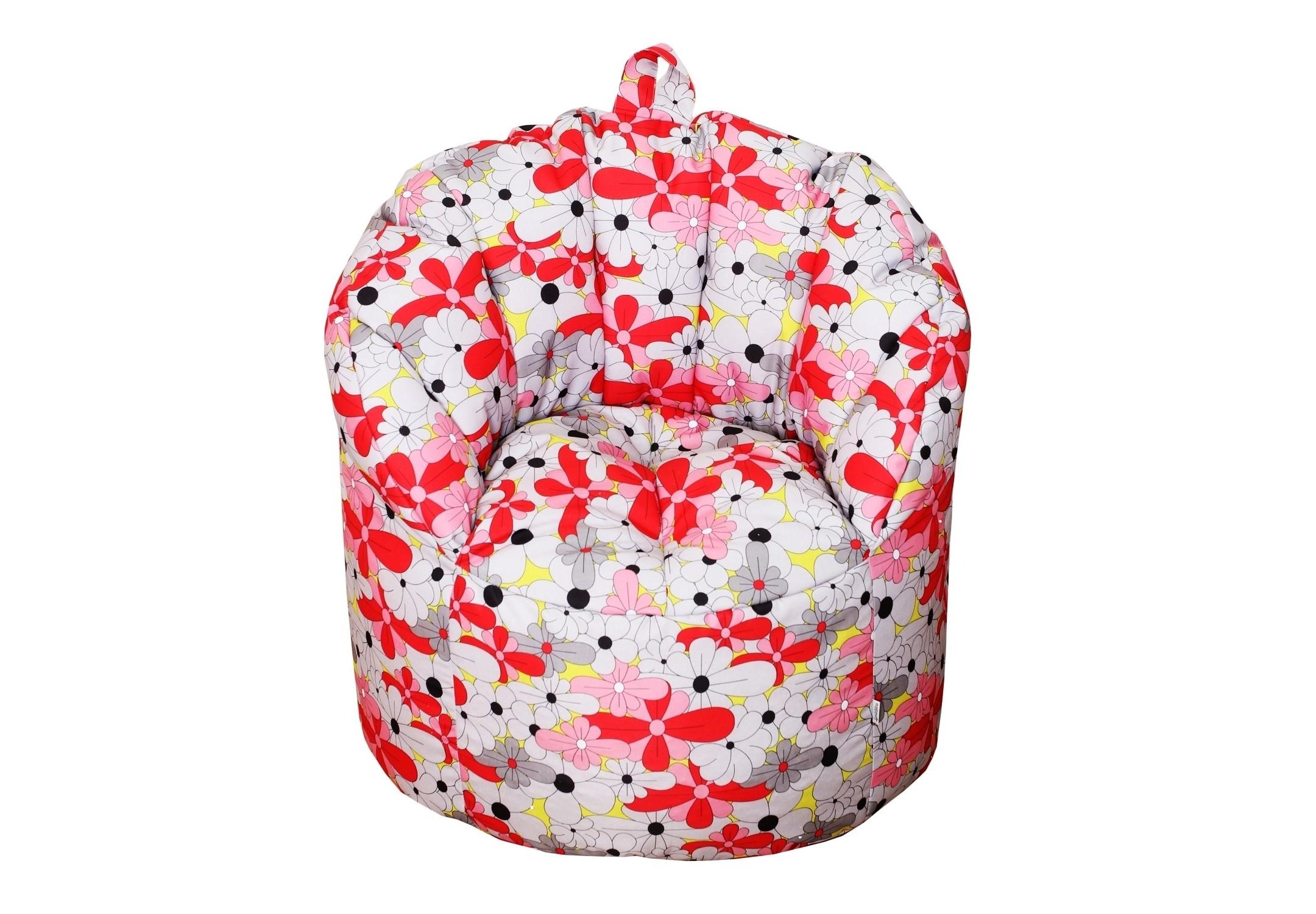 Уличное кресло- пуф BloomФорменные пуфы<br>Комфортное кресло-пуф станет неотьемлемой частью вашего дома. Спинка кресла держит форму и обеспечивает круговую поддержку для спины за счет особой системы пошива и подбоя из синтепона. Кресло имеет 2 независимых отсека для наполнителя. Эксклюзивная водонепроницаемая  ткань отлично оталкивает грязь и легко чистится. Кресло подойдет для дизайна интерьера беседок, веранд и внутренних дворов.<br><br>Material: Текстиль<br>Length см: None<br>Width см: 85<br>Depth см: 91<br>Height см: 79
