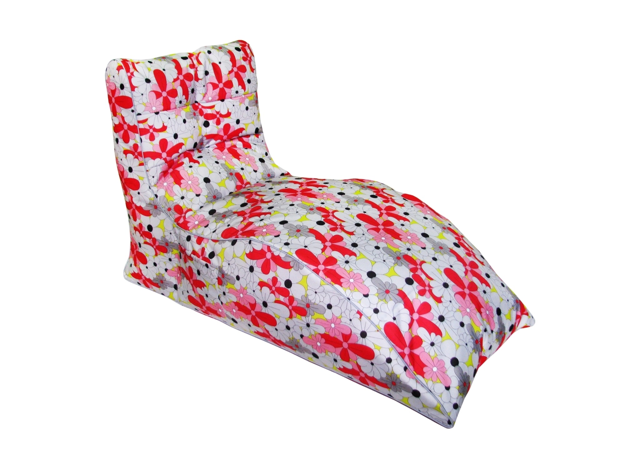 Кресло-лежак BloomЛежаки<br>Очень комфортное и  легкое  кресло станет неотьемлемой частью вашего интерьера как дома так и на улице. Сиденье и спинка кресла великолепно поддерживают и принимют форму тела, обеспечивая комфортный отдых. Читайте книгу, общайтесь с друзьями или просто наслаждайтесь лучами летнего солнца удобно разместившись в этом кресле!  Оно сшито из очень плотной ткани с водооталкивающим покрытием с внешней строны, поэтому идеально подойтет для уличного декора.При загразнении его достаточно протереть мокрой салфеткой.<br><br>Material: Текстиль<br>Ширина см: 80<br>Высота см: 131<br>Глубина см: 60