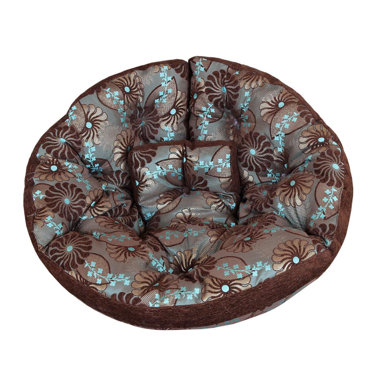 Кресло-футон Blue FlowersБесформенные пуфы<br>Помните, как в детстве все любили качаться на гамаках? Это кресло напомнит вам о приятном, а тропический принт наполнит вашу квартиру солнечным светом и теплом. Его можно расположить в кресле или использовать как самостоятельный матрас-футон. Кроме того, по желанию вы сможете соединить его &amp;amp;nbsp;с другими креслами и расположиться на них всей семьей!<br><br>Material: Текстиль<br>Length см: None<br>Width см: 200<br>Height см: 100