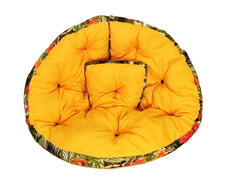 Кресло-футонБесформенные пуфы<br>Помните, как в детстве все любили качаться на гамаках? Это кресло напомнит вам о приятном, а тропический принт наполнит вашу квартиру солнечным светом и теплом. Его можно расположить в кресле или использовать как самостоятельный матрас-футон. Кроме того, по желанию вы сможете соединить его &amp;amp;nbsp;с другими креслами и расположиться на них всей семьей!<br><br>Material: Текстиль<br>Length см: None<br>Width см: 200<br>Depth см: None<br>Height см: 100