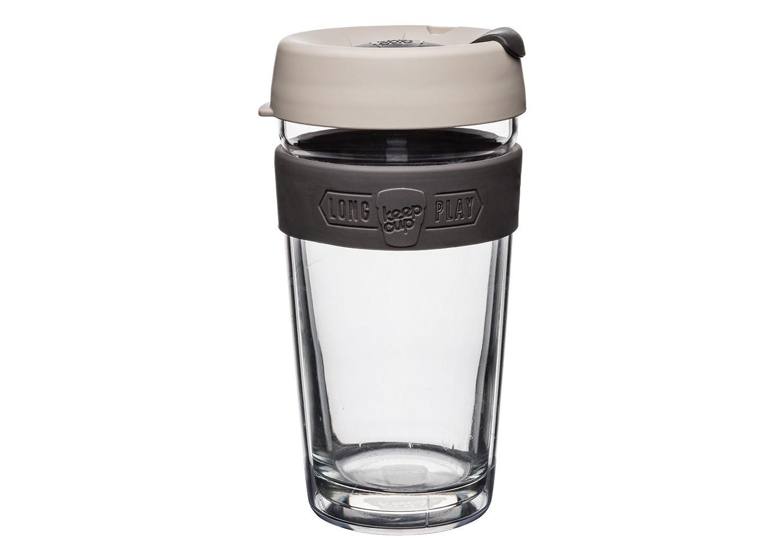 Кружка Keepcup longplay milkЧайные пары, чашки и кружки<br>Новая версия культовых кружек Keepcup с еще более удобной крышкой. Двойной корпус теперь состоит из стекла и пластика Tritan. Кружка, созданная с мыслями о вас и о планете. Главная идея KeepCup – вдохновить любителей кофе отказаться от использования одноразовых бумажных и пластиковых стаканов, так как их производство и утилизация наносят вред окружающей среде. В год производится и выбрасывается около 500 миллиардов одноразовых стаканчиков, а ведь планета у нас всего одна! <br><br>Но главный плюс кружки  – привлекательный и яркий дизайн, который станет отражением вашего личного стиля. Берите её в кафе или наливайте кофе, чай, сок дома, чтобы взять с собой - пить вкусные напитки на ходу, на работе или на пикнике. Специальная крышка с открывающимся и закрывающимся клапаном спасет от брызг, а силиконовый ободок поможет не обжечься (плюс, удобно держать кружку в руках.<br>Крышка сделана из нетоксичного пластика без содержания вредного бисфенола (BPA-free). <br><br>Стеклянная кружка теперь дополнена съемным корпусом из пластика Tritan.<br>Благодаря этой особенности кружка лучше сохраняет тепло и предотвращает образование конденсата, если напиток со льдом. Корпус не дает обжечься и защищает руку от холода.&amp;lt;div&amp;gt;&amp;lt;br&amp;gt;&amp;lt;/div&amp;gt;&amp;lt;div&amp;gt;Объем: 454 мл.&amp;lt;br&amp;gt;&amp;lt;/div&amp;gt;<br><br>Material: Стекло<br>Height см: 15,8<br>Diameter см: 8,8