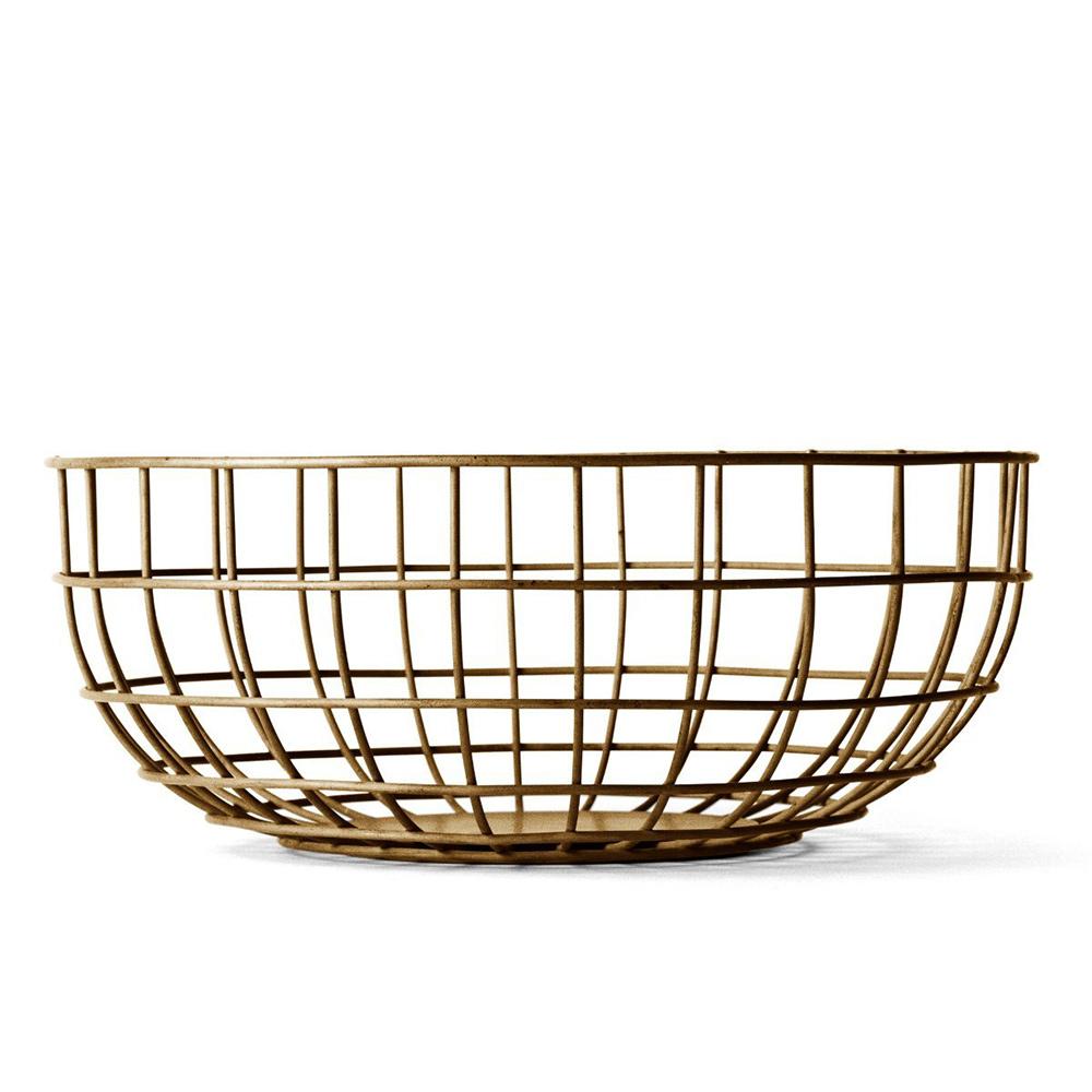 Ваза Norm wire bowlМиски и чаши<br>Ваза предназначена для фруктов, но область её применения ограничена только вашей фантазией – можете хранить в ней яблоки и апельсины, а можете положить в неё журналы или, например, клубки шерсти для вязания.<br><br>Material: Сталь<br>Height см: 10<br>Diameter см: 25