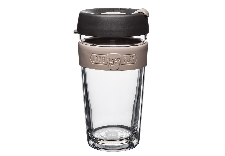 Кружка Keepcup longplay chaiЧайные пары, чашки и кружки<br>Новая версия культовых кружек Keepcup с еще более удобной крышкой. Двойной корпус теперь состоит из стекла и пластика Tritan. Кружка, созданная с мыслями о вас и о планете. Главная идея KeepCup – вдохновить любителей кофе отказаться от использования одноразовых бумажных и пластиковых стаканов, так как их производство и утилизация наносят вред окружающей среде. В год производится и выбрасывается около 500 миллиардов одноразовых стаканчиков, а ведь планета у нас всего одна! <br><br>Но главный плюс кружки  – привлекательный и яркий дизайн, который станет отражением вашего личного стиля. Берите её в кафе или наливайте кофе, чай, сок дома, чтобы взять с собой - пить вкусные напитки на ходу, на работе или на пикнике. Специальная крышка с открывающимся и закрывающимся клапаном спасет от брызг, а силиконовый ободок поможет не обжечься (плюс, удобно держать кружку в руках.<br>Крышка сделана из нетоксичного пластика без содержания вредного бисфенола (BPA-free). <br><br>Стеклянная кружка теперь дополнена съемным корпусом из пластика Tritan.<br>Благодаря этой особенности кружка лучше сохраняет тепло и предотвращает образование конденсата, если напиток со льдом. Корпус не дает обжечься и защищает руку от холода.&amp;lt;div&amp;gt;&amp;lt;br&amp;gt;&amp;lt;/div&amp;gt;&amp;lt;div&amp;gt;Объем: 454 мл.&amp;lt;br&amp;gt;&amp;lt;/div&amp;gt;<br><br>Material: Стекло<br>Height см: 15,8<br>Diameter см: 8,8