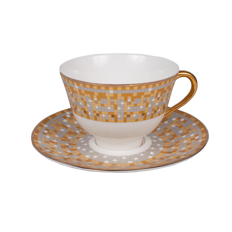 Чайная пара DominionЧайные пары и чашки<br><br><br>Material: Фарфор<br>Height см: 7<br>Diameter см: 10
