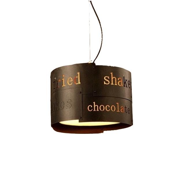 Подвесная люстра ChocolateПодвесные светильники<br>&amp;lt;div&amp;gt;Вид цоколя: Е27&amp;lt;/div&amp;gt;&amp;lt;div&amp;gt;Мощность: 60W&amp;lt;/div&amp;gt;&amp;lt;div&amp;gt;Количество ламп: 1&amp;lt;/div&amp;gt;&amp;lt;div&amp;gt;лампа в комплект не входит&amp;lt;/div&amp;gt;<br><br>Material: Металл<br>Height см: 23<br>Diameter см: 35