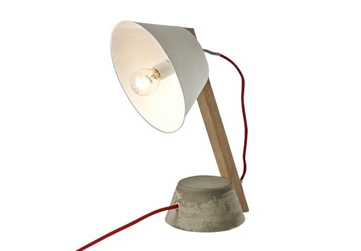 Лампа BETONНастольные лампы<br><br><br>Material: Металл<br>Length см: None<br>Width см: 19<br>Height см: 34<br>Diameter см: 21