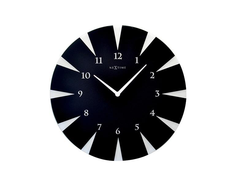 Настенные часы POINTНастенные часы<br>кварцевый механизм<br><br>Material: Стекло<br>Diameter см: 43