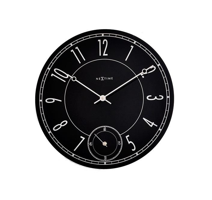 Настенные часы LEITBRINGНастенные часы<br>кварцевый механизм<br><br>Material: Стекло<br>Diameter см: 43