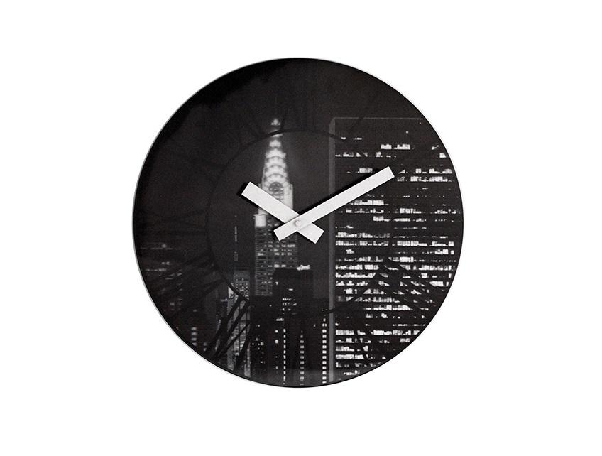 Настенные часы THE CITY с 3D эффектомНастенные часы<br>кварцевый механизм<br><br>Material: Пластик<br>Diameter см: 39