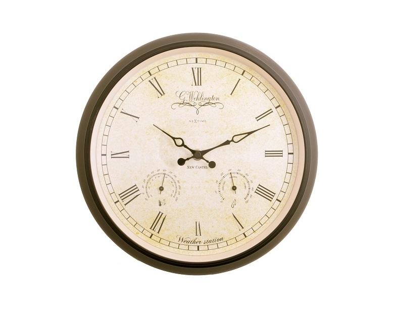 Настенные часы AALTJE WEATHER STATIONНастенные часы<br>кварцевый механизм<br><br>Material: Металл<br>Diameter см: 25