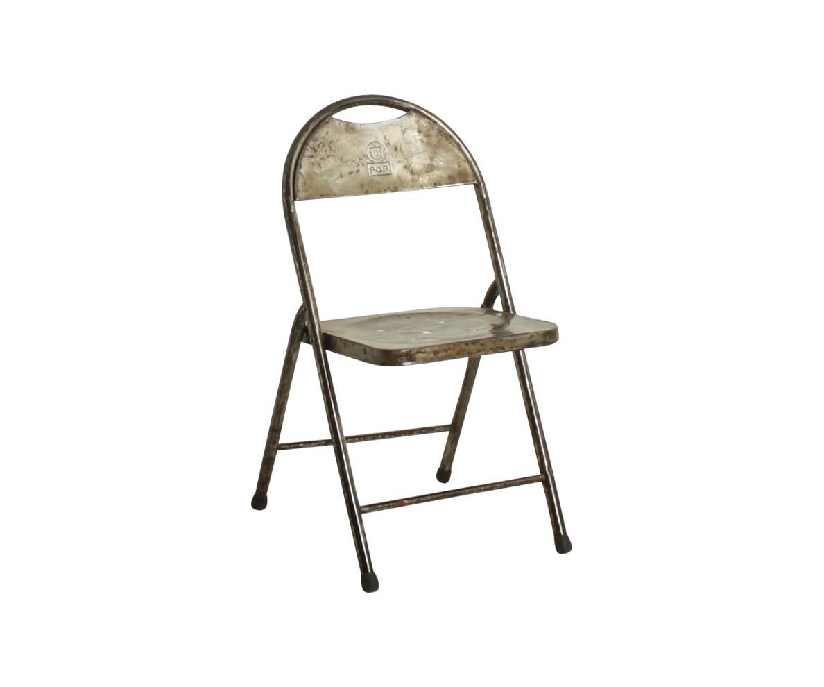 Стул BISTRO складнойСтулья для сада<br>Оригинальный складной стул. Каждый стул индивидуален и неповторим.&amp;amp;nbsp;<br><br>Material: Металл<br>Width см: 40<br>Depth см: 40<br>Height см: 80