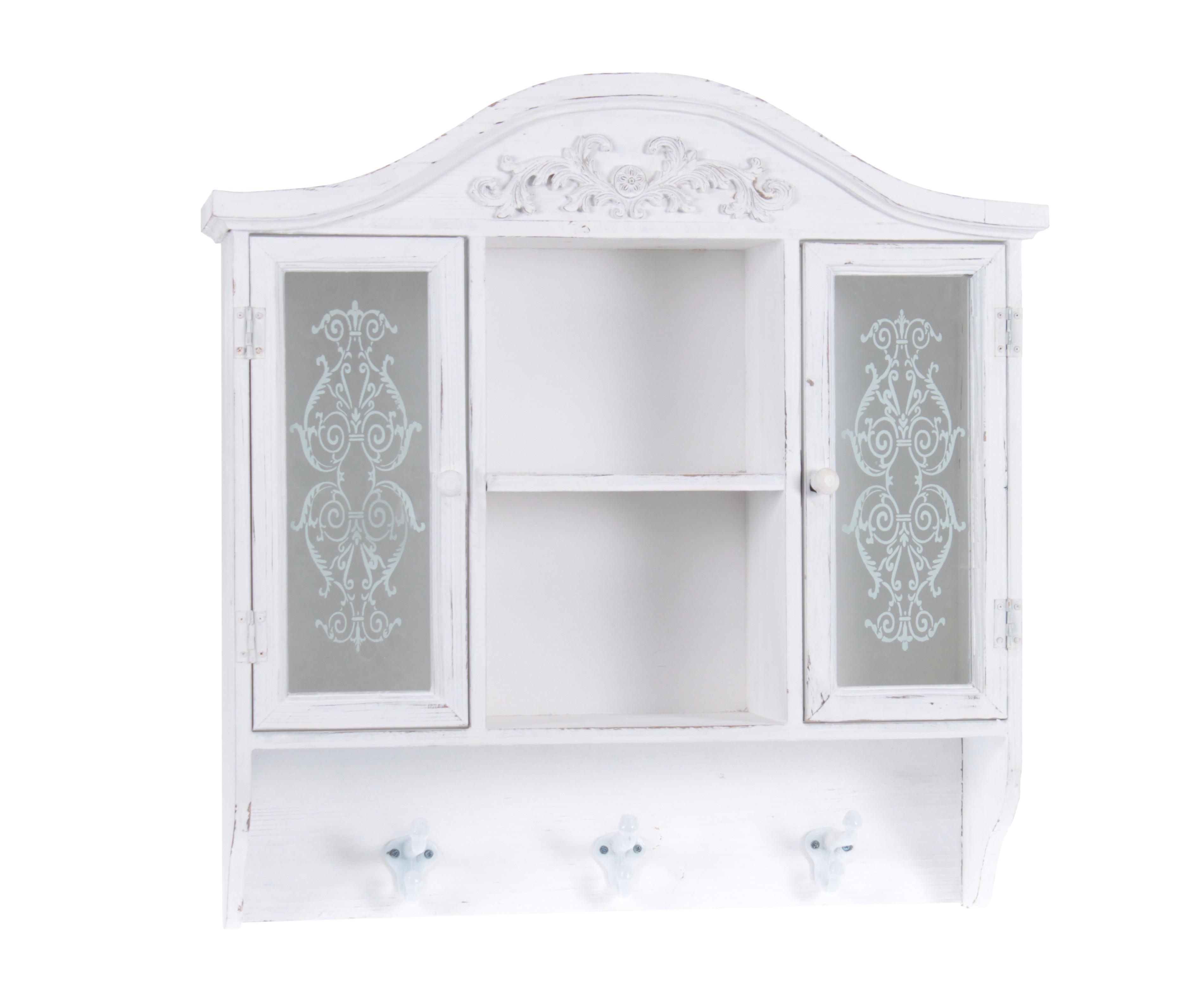 Шкаф настенный FranciskШкафчики для ванной<br><br><br>Material: Дерево<br>Width см: 58<br>Depth см: 15<br>Height см: 60