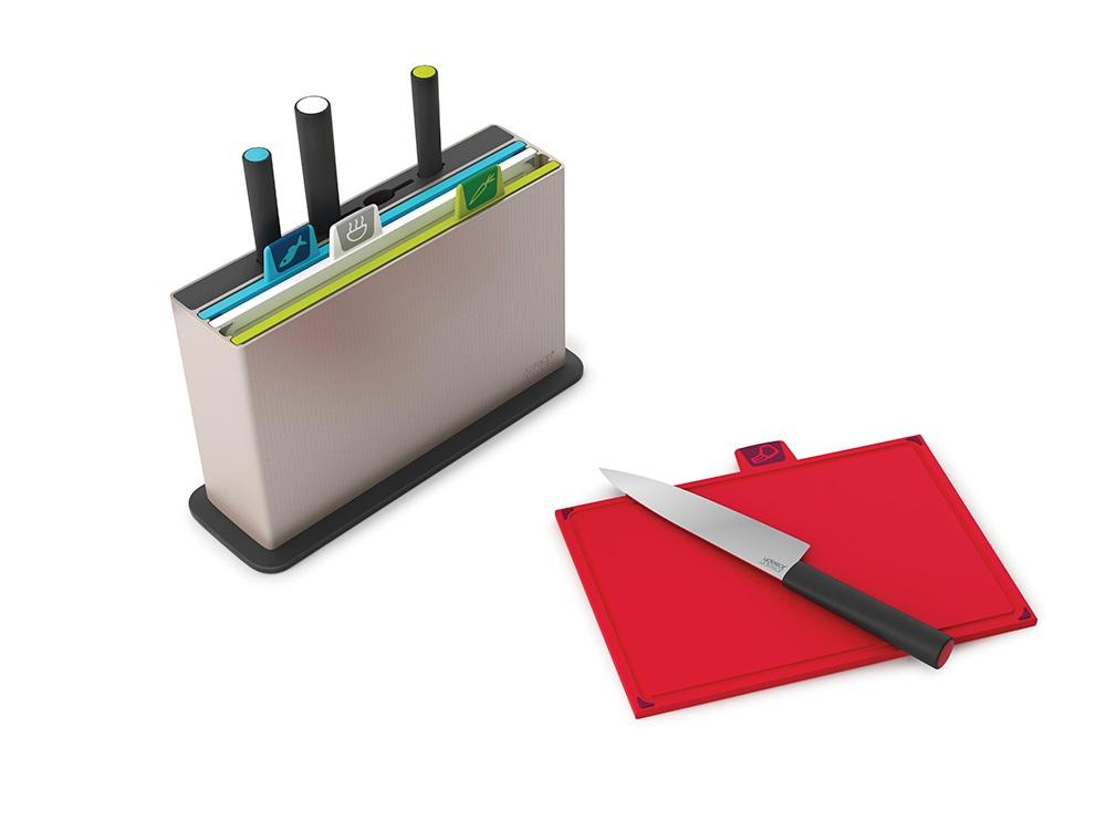 Набор разделочных досок с ножами