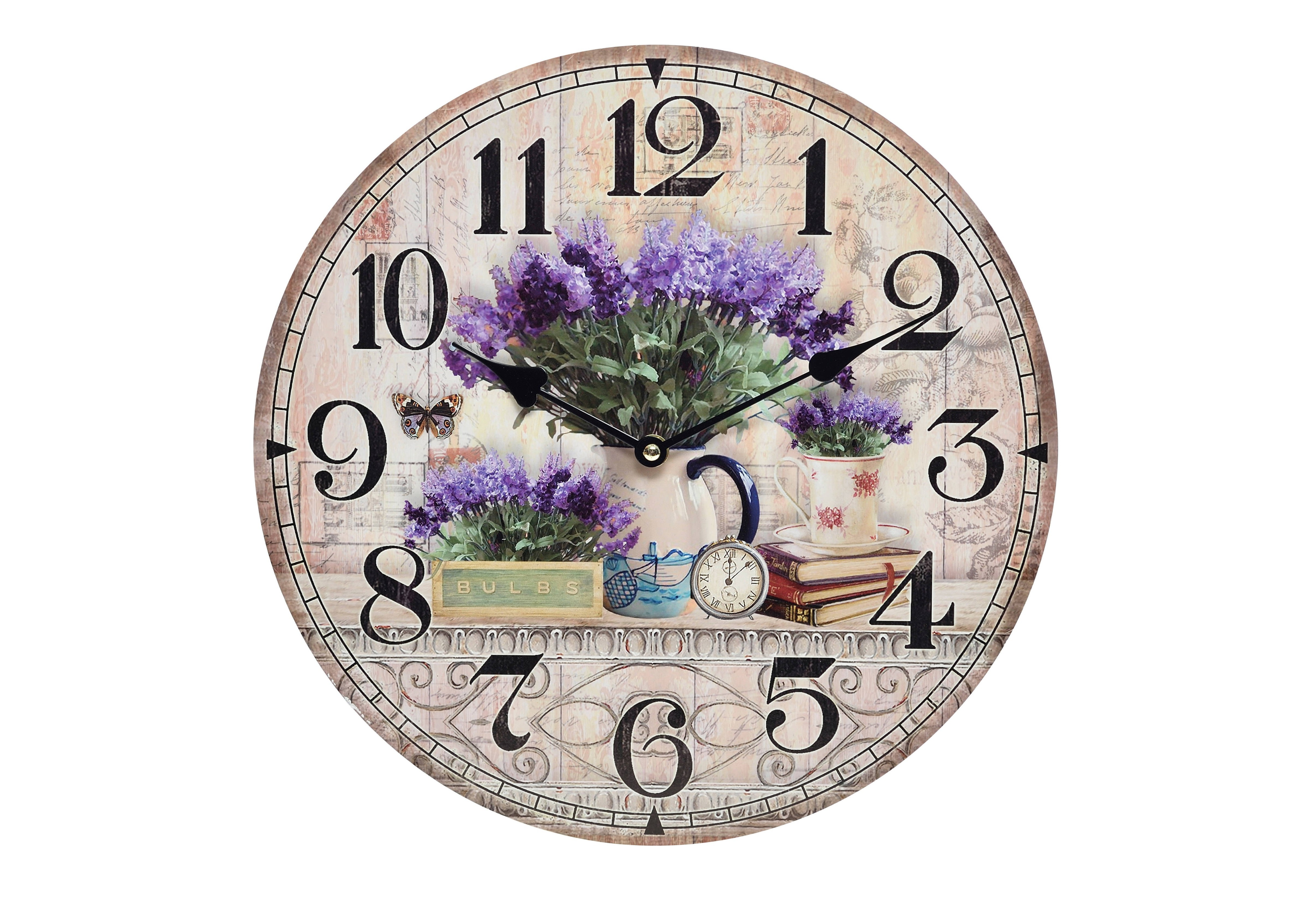 Часы настенные PipperНастенные часы<br>Кварцевый механизм.<br><br>Material: Дерево<br>Width см: None<br>Depth см: 4<br>Height см: None<br>Diameter см: 34