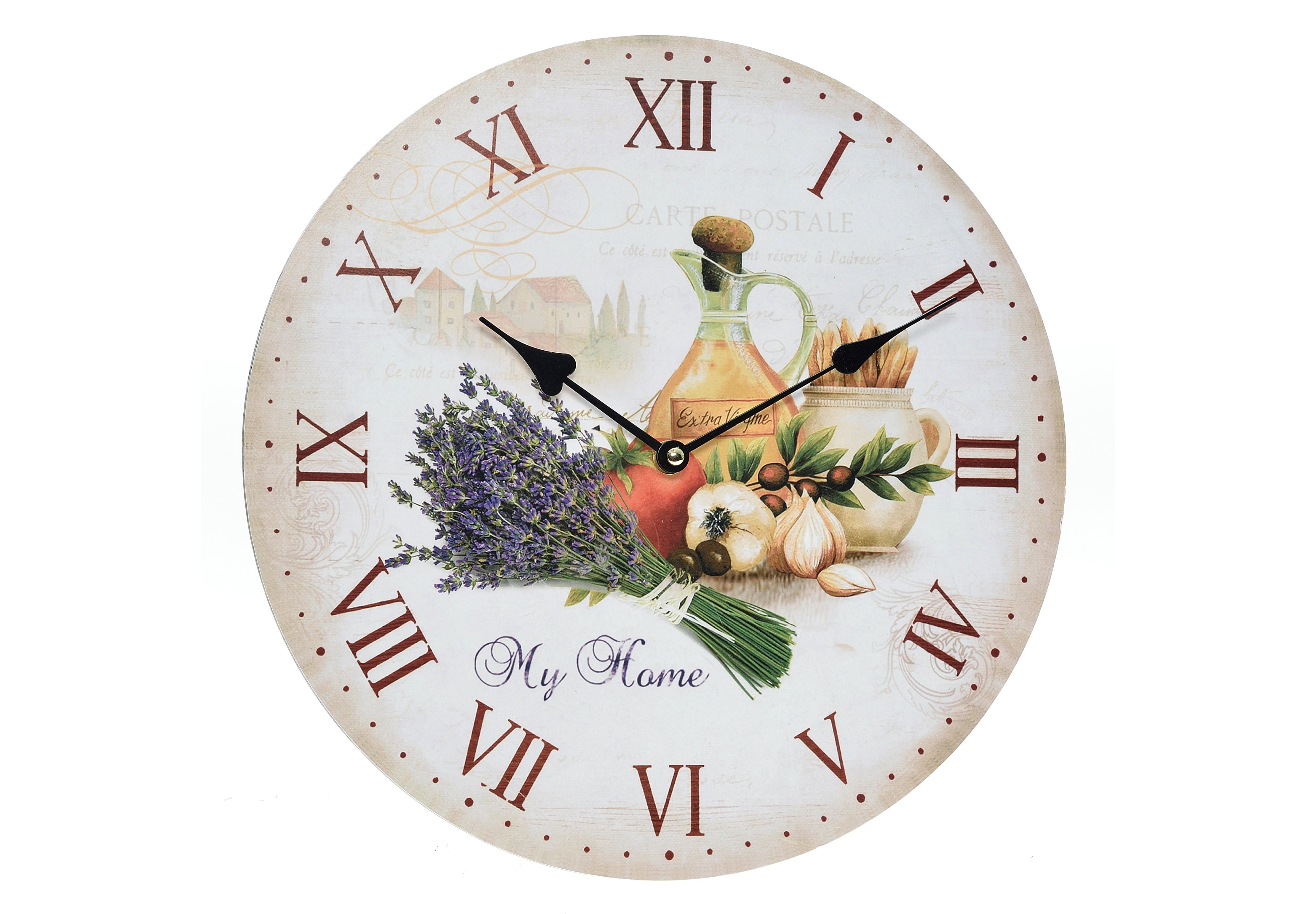 Часы настенные VertaНастенные часы<br>Кварцевый механизм.<br><br>Material: Дерево<br>Width см: None<br>Depth см: 4<br>Height см: None<br>Diameter см: 34