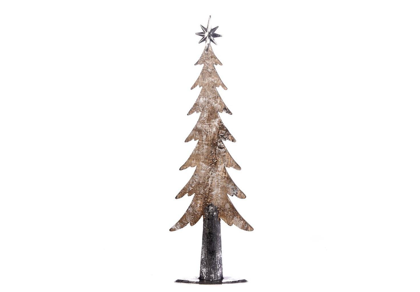 Ель металлическаяЁлки<br><br><br>Material: Дерево<br>Width см: 20<br>Depth см: 8<br>Height см: 64