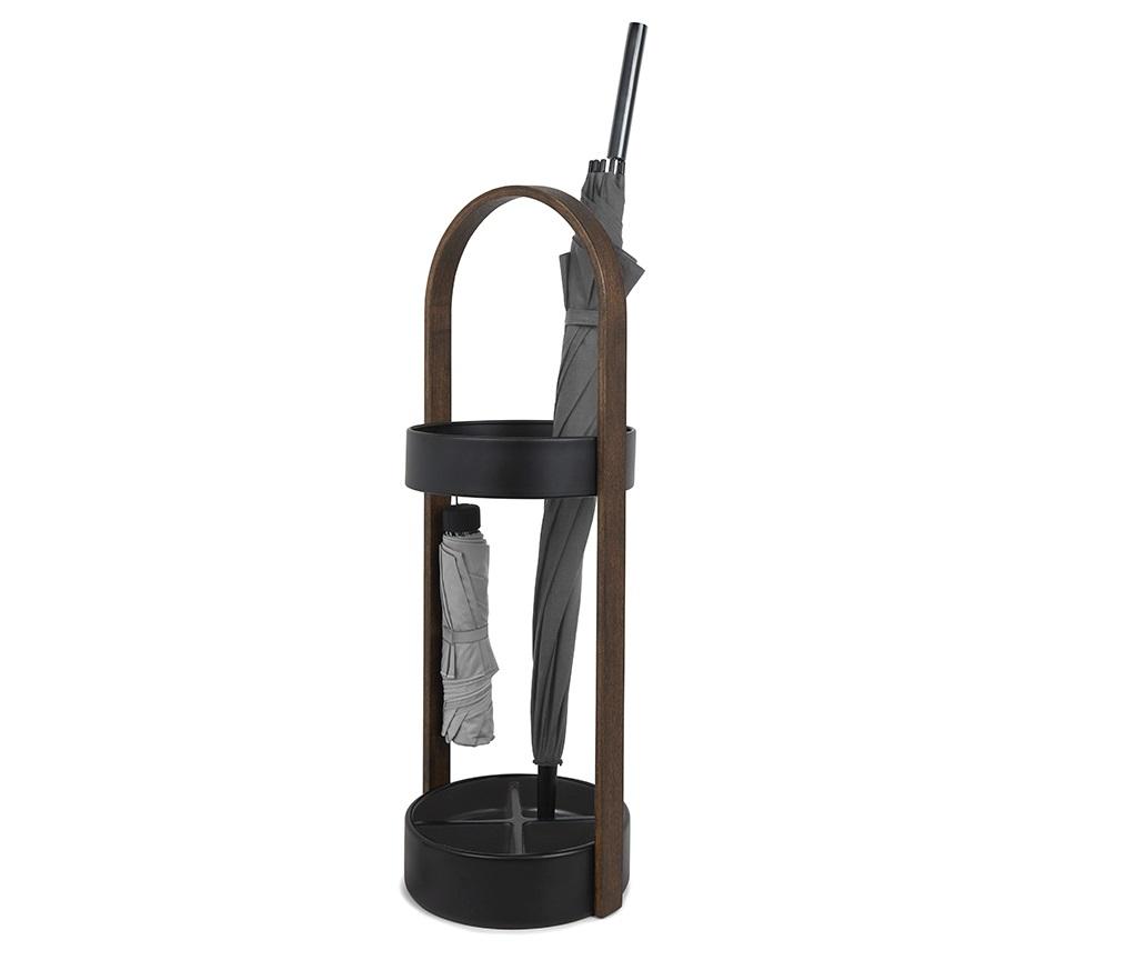 Подставка для зонтов hub Зонтницы<br>Необычная подставка для зонтов, которая к тому же является отличным элементом интерьера. Имеет ручку, обеспечивающую мобильность, а также дно, которое надёжно защитит пол от влаги. По словам дизайнера, он задумал сделать подставку для зонтов, которая будет выглядеть так же стильно, как вся мебель в его доме.<br>Внутри верхнего стального кольца два крючка для складных зонтов.<br>Дно поделено на секции, расчитанные на 4 зонта-трости.&amp;lt;div&amp;gt;&amp;lt;br&amp;gt;&amp;lt;/div&amp;gt;&amp;lt;div&amp;gt;Материал: дерево, металл, резина&amp;lt;br&amp;gt;&amp;lt;/div&amp;gt;<br><br>Material: Металл<br>Width см: None<br>Height см: 68,6<br>Diameter см: 22,2