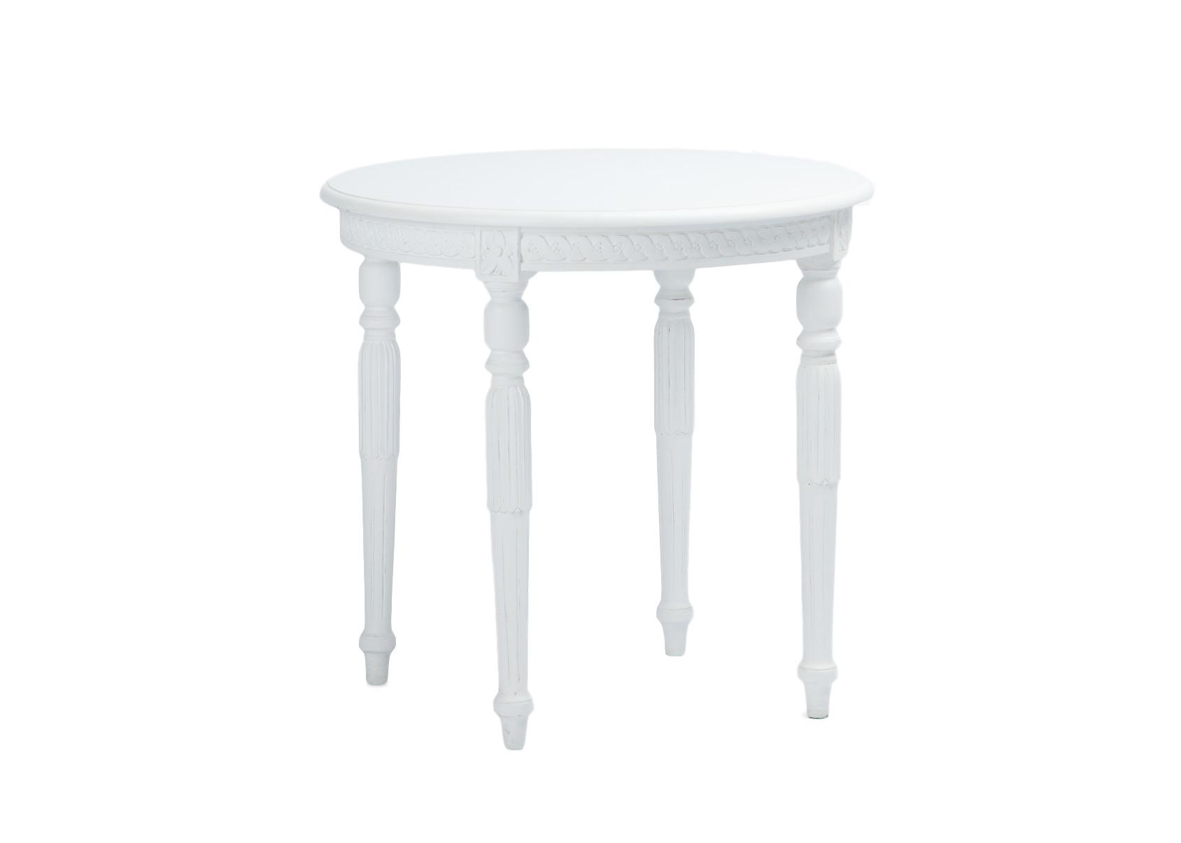 СтоликОбеденные столы<br>Круглый столик на резных ножках из дерева махагони в густавианском стиле.<br><br>Material: Красное дерево<br>Height см: 65<br>Diameter см: 70