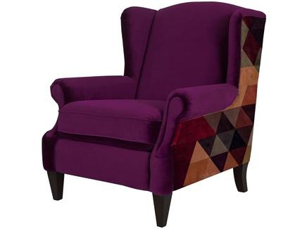Кресло triangle apple (icon designe) розовый 82x98x88 см.