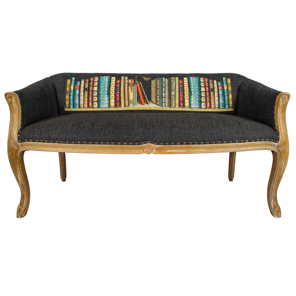 Диванетка ЛитераДвухместные диваны<br>Удивительная диванетка &amp;quot;Литера&amp;quot; становится образом и волнует нас так же, как музыка, стихи, литература или живописные полотна. Просто присядьте на диван &amp;quot;Биарриц Литера&amp;quot; и погрузитесь в увлекательное чтение любимого романа. Корпус из натурального бука опирается на изогнутые ножки в дворцовой манере &amp;quot;кабриоли&amp;quot;. Грациозный  изгиб облегчает мебель визуально. Ткань из смеси льна и хлопка имеет покрытие, защищающее от пятен. &amp;lt;div&amp;gt;&amp;lt;br&amp;gt;&amp;lt;/div&amp;gt;&amp;lt;div&amp;gt;Материал: корпус - бук, обивка - 25% хлопок, 15% лен, 60% полиэстер&amp;lt;br&amp;gt;&amp;lt;/div&amp;gt;<br><br>Material: Текстиль<br>Width см: 133<br>Depth см: 62<br>Height см: 69