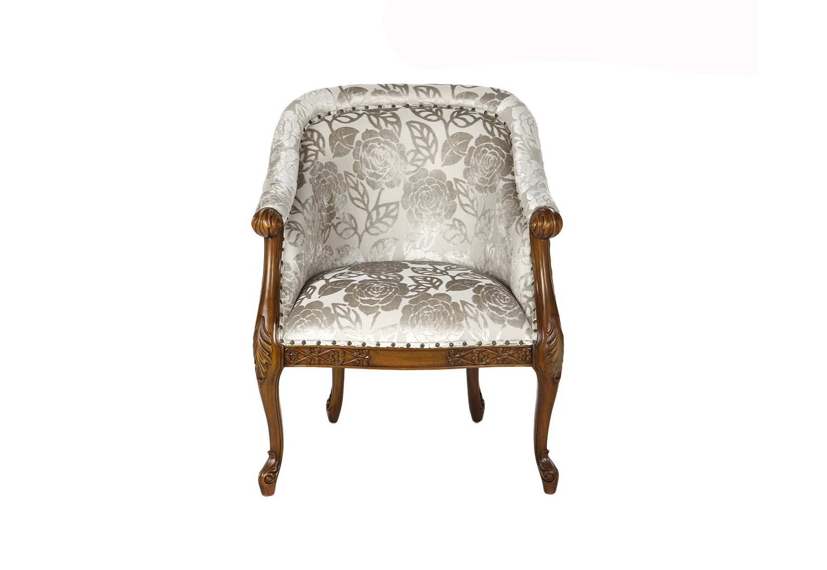 КреслоИнтерьерные кресла<br>Материалы: ткань, массив красного дерева<br><br>Material: Текстиль<br>Width см: 70<br>Depth см: 65<br>Height см: 103