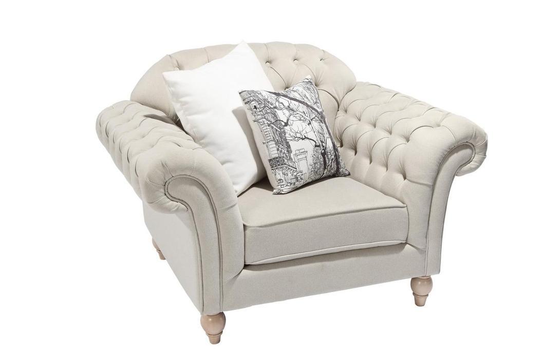 Кресло FrancaИнтерьерные кресла<br>Романтизм, утонченность и подлинный французский шарм являются отличительными чертами кресла &amp;quot;Franca&amp;quot;. Ножки цвета слоновой кости с эффектом состаривания превосходно сочетаются с кремовой рогожкой, декорированной стяжкой капитоне.&amp;lt;div&amp;gt;&amp;lt;br&amp;gt;&amp;lt;/div&amp;gt;&amp;lt;div&amp;gt;На фото в другой отделке! Сделано из массива тополя.&amp;lt;/div&amp;gt;<br><br>Material: Текстиль<br>Length см: None<br>Width см: 118<br>Depth см: 90<br>Height см: 88<br>Diameter см: None
