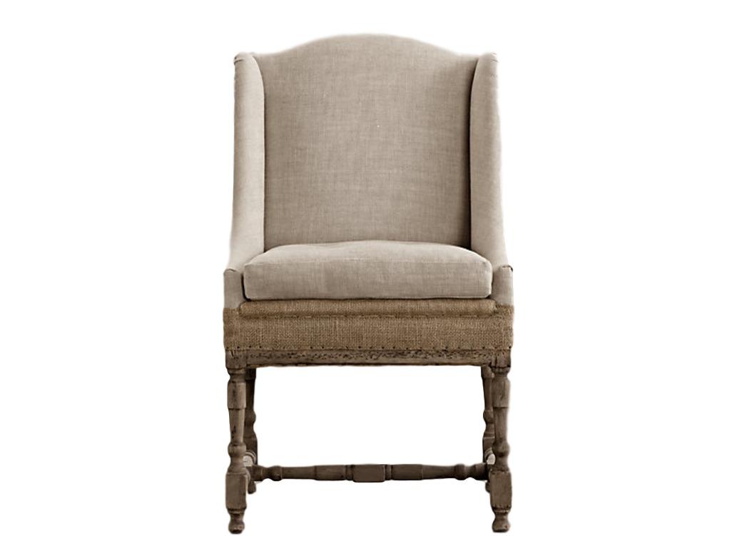 Кресло ОкейжнлИнтерьерные кресла<br>Кресло является репликой модели начала XVIII века. Каркас из массива ореха изготовлен вручную. Можно проследить все нюансы, особенности устройства этого кресла, так как производители намеренно не сделали обивку по бокам изделия. Так оно выглядит еще более аутентично и, несомненно, придется по вкусу ценителям естественной красоты.<br><br>Material: Текстиль<br>Width см: 65<br>Depth см: 60<br>Height см: 100