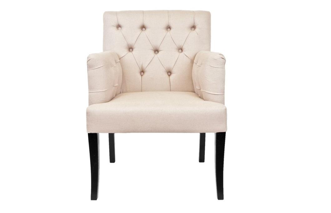Полукресло ZanderПолукресла<br>Это грациозное кресло на высоких ножках выглядит как легкое полукресло.&amp;amp;nbsp;<br><br>Material: Лен<br>Width см: 64<br>Depth см: 63<br>Height см: 89