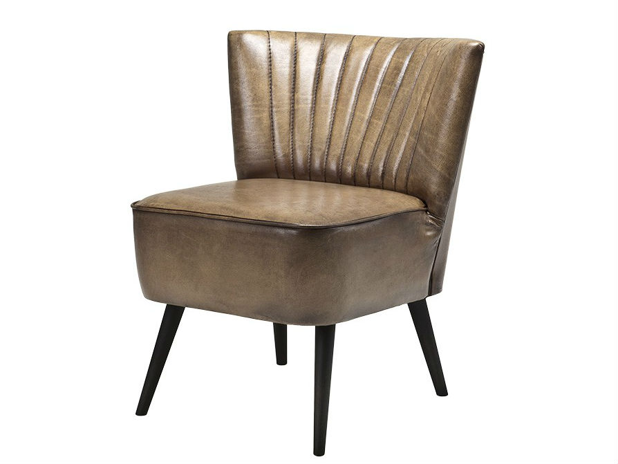 КреслоПолукресла<br>Кожаное кресло Allstar оливкового цвета. Деревянные ножки черного цвета.<br><br>Material: Кожа<br>Ширина см: 44.0<br>Высота см: 69.0<br>Глубина см: 47.0