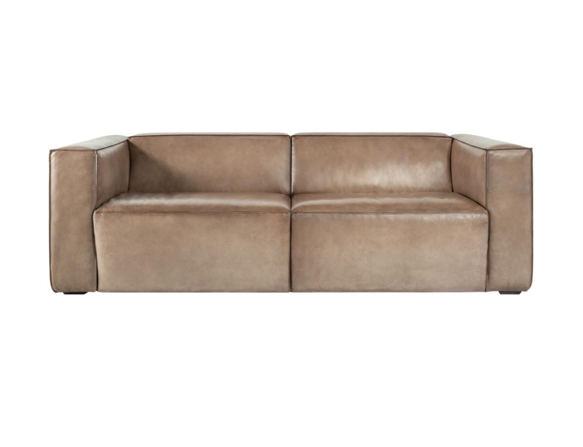 Диван Wayne sofa LampreКожаные диваны<br><br><br>Material: Кожа<br>Width см: 254<br>Depth см: 98<br>Height см: 78