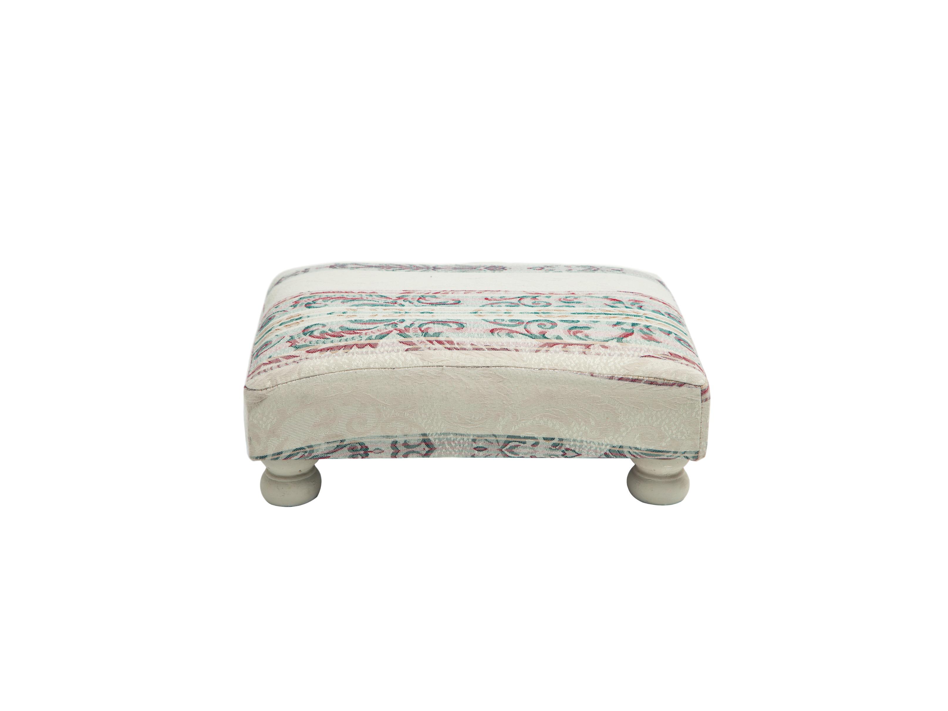 БанкеткаБанкетки<br>Маленькая банкетка для ног, обивка серого цвета с рисунком.&amp;lt;div&amp;gt;&amp;lt;br&amp;gt;&amp;lt;/div&amp;gt;&amp;lt;div&amp;gt;Материал: махагони&amp;lt;br&amp;gt;&amp;lt;/div&amp;gt;<br><br>Material: Текстиль<br>Width см: 40<br>Depth см: 30<br>Height см: 16