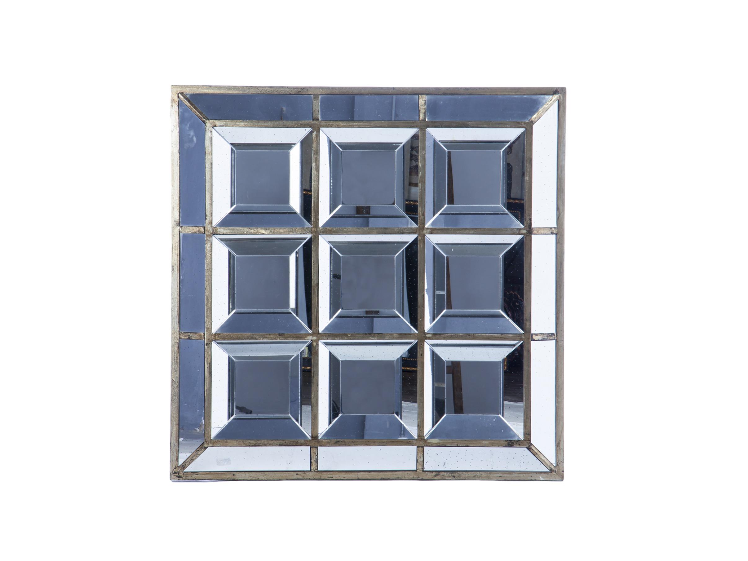 Зеркало декоративноеНастенные зеркала<br>Декоративное зеркало квадратной формы в стиле арт-деко.&amp;lt;div&amp;gt;&amp;lt;br&amp;gt;&amp;lt;/div&amp;gt;&amp;lt;div&amp;gt;Материал: зеркальное стекло&amp;lt;br&amp;gt;&amp;lt;/div&amp;gt;<br><br>Material: Стекло<br>Width см: 116<br>Depth см: 8<br>Height см: 116
