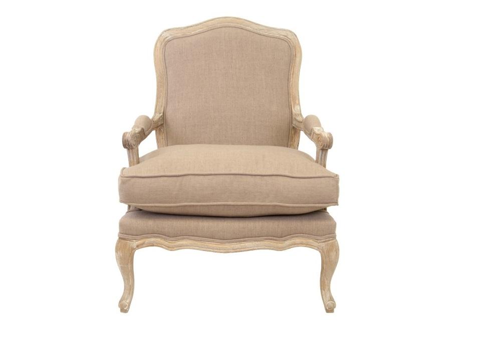 Кресло NitroИнтерьерные кресла<br>Кресло Nitro — роскошная модель на низких фигурных ножках, изготовленных из массива дерева, обивка изделия выполнена изо льна, экологически чистого материала. Это шикарное кресло с первого взгляда дарит тепло и уют. У него широкое сиденье, спинка мягкой обтекаемой формы, удобные подлокотники.<br><br>Material: Лен<br>Width см: 72<br>Depth см: 69<br>Height см: 96