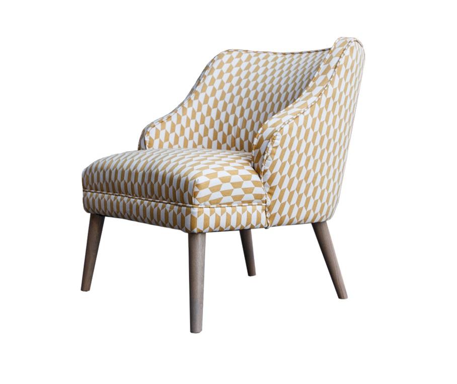 Кресло МираИнтерьерные кресла<br><br><br>Material: Лен<br>Width см: 80<br>Depth см: 65<br>Height см: 82