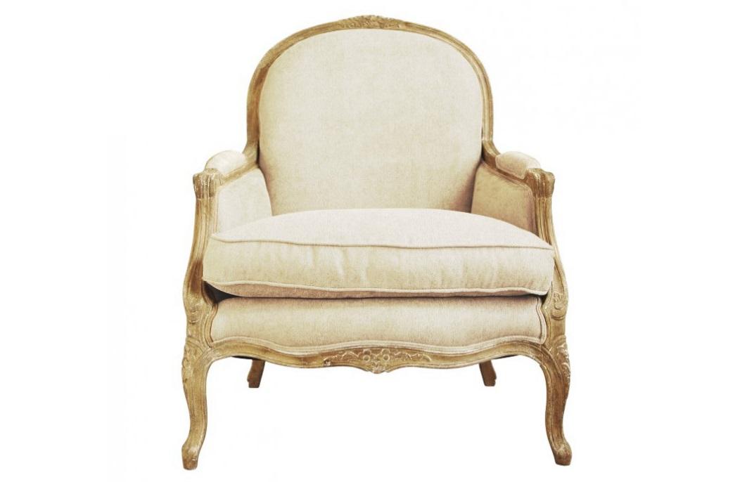 КреслоИнтерьерные кресла<br>Элегантное и утонченное кресло пастельных тонов выполнено в лучших традициях французского прованса. Мягкая бежевая обивка из натурального льна покрывает сидение и полукруглую спинку. Каркас из дерева с матово-золотистой патиной огибает контур кресла. Дополнительная объемная подушка и декоративные накладки на подлокотниках ненавязчиво приглашают присесть.&amp;amp;nbsp;&amp;lt;div&amp;gt;&amp;lt;br&amp;gt;&amp;lt;/div&amp;gt;&amp;lt;div&amp;gt;Материал: Массив дуба, лен&amp;amp;nbsp;&amp;lt;/div&amp;gt;&amp;lt;div&amp;gt;&amp;lt;span style=&amp;quot;line-height: 1.78571429;&amp;quot;&amp;gt;Вес: 30 кг&amp;lt;/span&amp;gt;&amp;lt;br&amp;gt;&amp;lt;/div&amp;gt;<br><br>Material: Лен<br>Width см: 85<br>Depth см: 84<br>Height см: 103