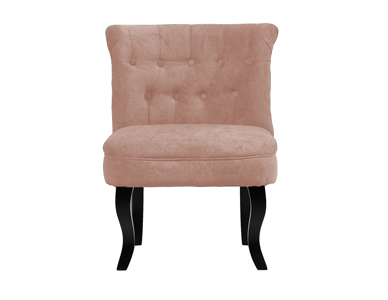 Кресло DawsonПолукресла<br>Кресло Dawson — неимоверно комфортное, удобное и красивое — выглядит так, словно вам его только что доставили из роскошного дома аристократической Франции. Богатая обивка, благородная форма деревянного каркаса самого предмета мебели, изящные ножки, нежный цвет — все говорит о его изысканности и шарме. Такое кресло непременно украсит ваш дом, добавив не только очарование и лоск, но и уют и тепло.<br><br>Material: Велюр<br>Ширина см: 73<br>Высота см: 56<br>Глубина см: 63