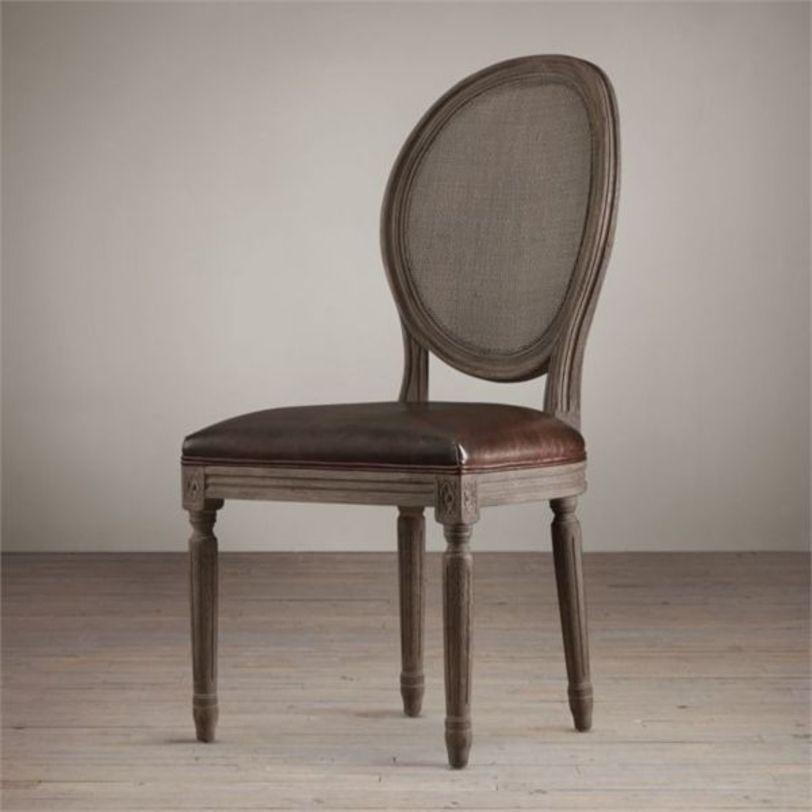 СТУЛ  СПА (кожа)Обеденные стулья<br>Стул с медальонной спинкой – модель в классическом стиле. Выполнен на каркасе из массива дуба. Предлагается в текстильной обивке из ассортимента производителя или второй вариант товара обивка кожа.<br><br>Material: Кожа<br>Width см: 50<br>Depth см: 60<br>Height см: 102