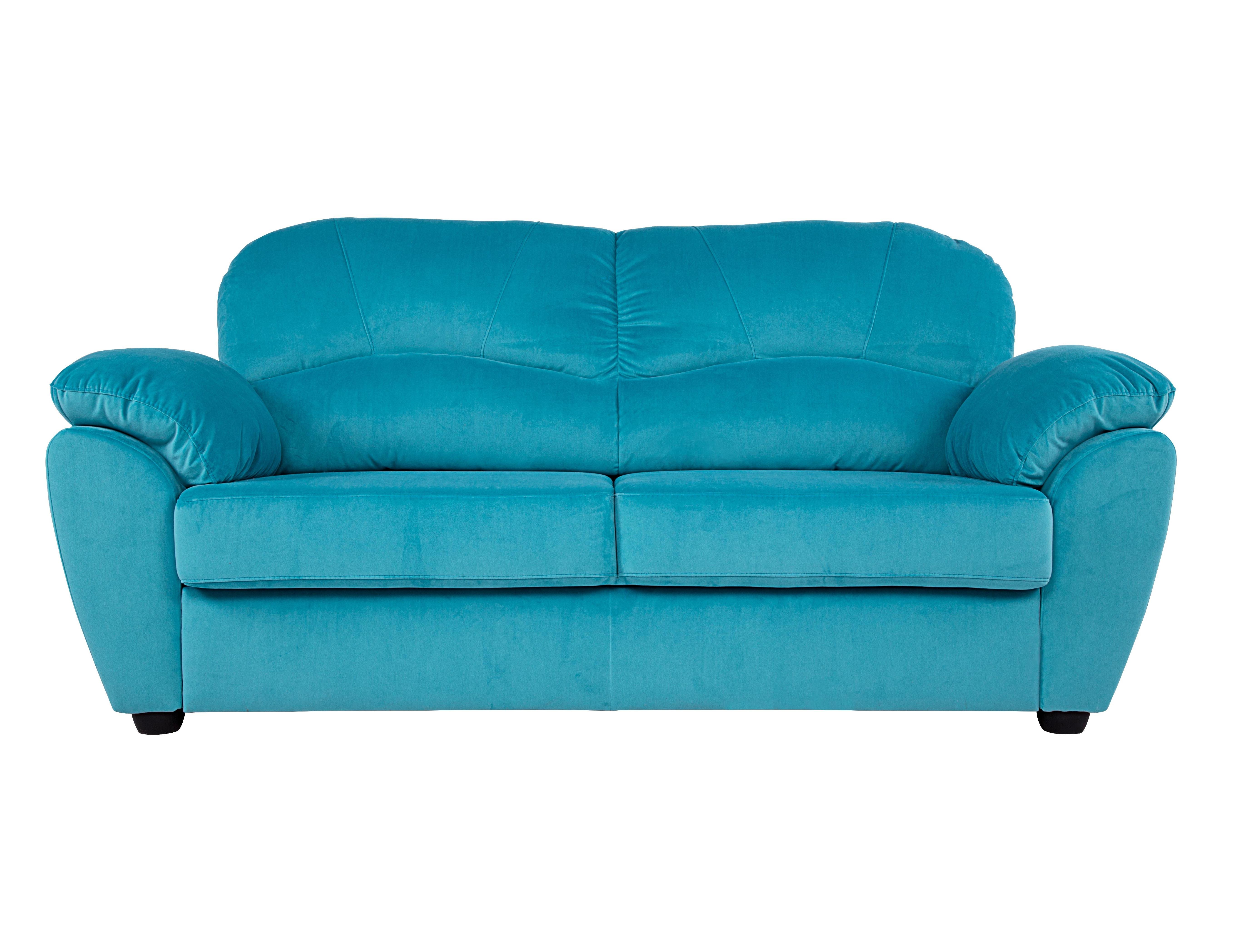 Раскладной диван ЭвитаПрямые раскладные диваны<br>Любите расслабиться на мягком диванчике с чашкой чая в руках, позабыв о повседневных заботах? Тогда у нас есть для вас идеальный мягкий друг! Современный дизайн впишется в любой интерьер. Кожаная обивка и мягкие формы помогут вам по-настоящему расслабиться в уютных объятиях &amp;quot;Эвиты&amp;quot;.<br><br>Material: Велюр