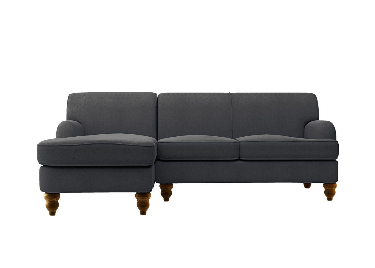 Угловой диван-кровать OneУгловые диваны<br>&amp;lt;div&amp;gt;Угловой диван MyFurnish One точно следует концепции всей серии: это компактный современный предмет мебели, подходящий к самым разным интерьерам. Габариты тут невероятно сжатые, меньше 240 см в ширину и чуть более 160 см от стены, к которой будет прислонена спинка. Все это обито прочной тканью и снабжено аккуратными ножками различной формы. Очень уместной угловая версия MyFurnish будет в небольших помещениях или как первый экземпляр дизайнерской мебели в доме.&amp;lt;/div&amp;gt;&amp;lt;div&amp;gt;&amp;lt;br&amp;gt;&amp;lt;/div&amp;gt;&amp;lt;div&amp;gt;Каркас и ножки: массив сосны и березы, фанера.&amp;lt;/div&amp;gt;&amp;lt;div&amp;gt;Сиденье и спинка: пружины Nosag, ремни, высокоэластичный ППУ.&amp;lt;/div&amp;gt;&amp;lt;div&amp;gt;Обивка: Немнущаяся, устойчивая к стиранию упругая ткань Paris.&amp;amp;nbsp;&amp;lt;/div&amp;gt;&amp;lt;div&amp;gt;The Furnish предоставляет покупателю гарантию качества, действующую в течение 12 календарных месяцев со дня получения.&amp;lt;/div&amp;gt;&amp;lt;div&amp;gt;Размер спального места: 140 см х 190 см.&amp;lt;/div&amp;gt;<br><br>Material: Текстиль<br>Length см: None<br>Width см: 232<br>Depth см: 165<br>Height см: 89