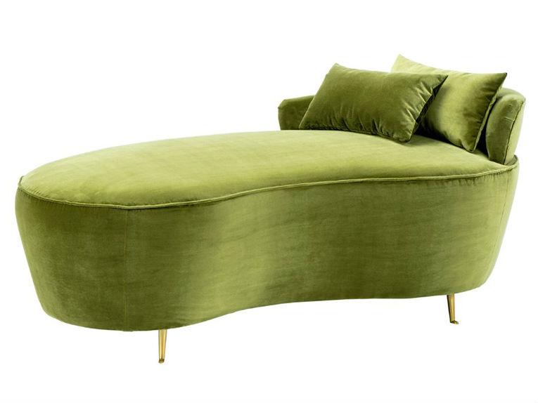 ДиванКушетки и оттоманки<br>&amp;lt;div&amp;gt;Создатели этого дивана продумали все до мелочей, чтобы помочь вам расслабиться по-настоящему. Форма этого дивана анатомически повторяет форму тела, благородный зеленый цвет успокаивает и дарит умиротворение, а вельветовая обивка создает особый уют. Основание образует максимально мягкий матрас, а небольшая спинка позволит лежать на нем в положении полулежа. Драгоценные минуты отдыха на этом диване будут незабываемыми, а дизайн в французском стиле наполнит ваш дом изысканностью и уютом.&amp;lt;br&amp;gt;&amp;lt;/div&amp;gt;<br><br>Material: Вельвет<br>Ширина см: 162<br>Высота см: 66<br>Глубина см: 79